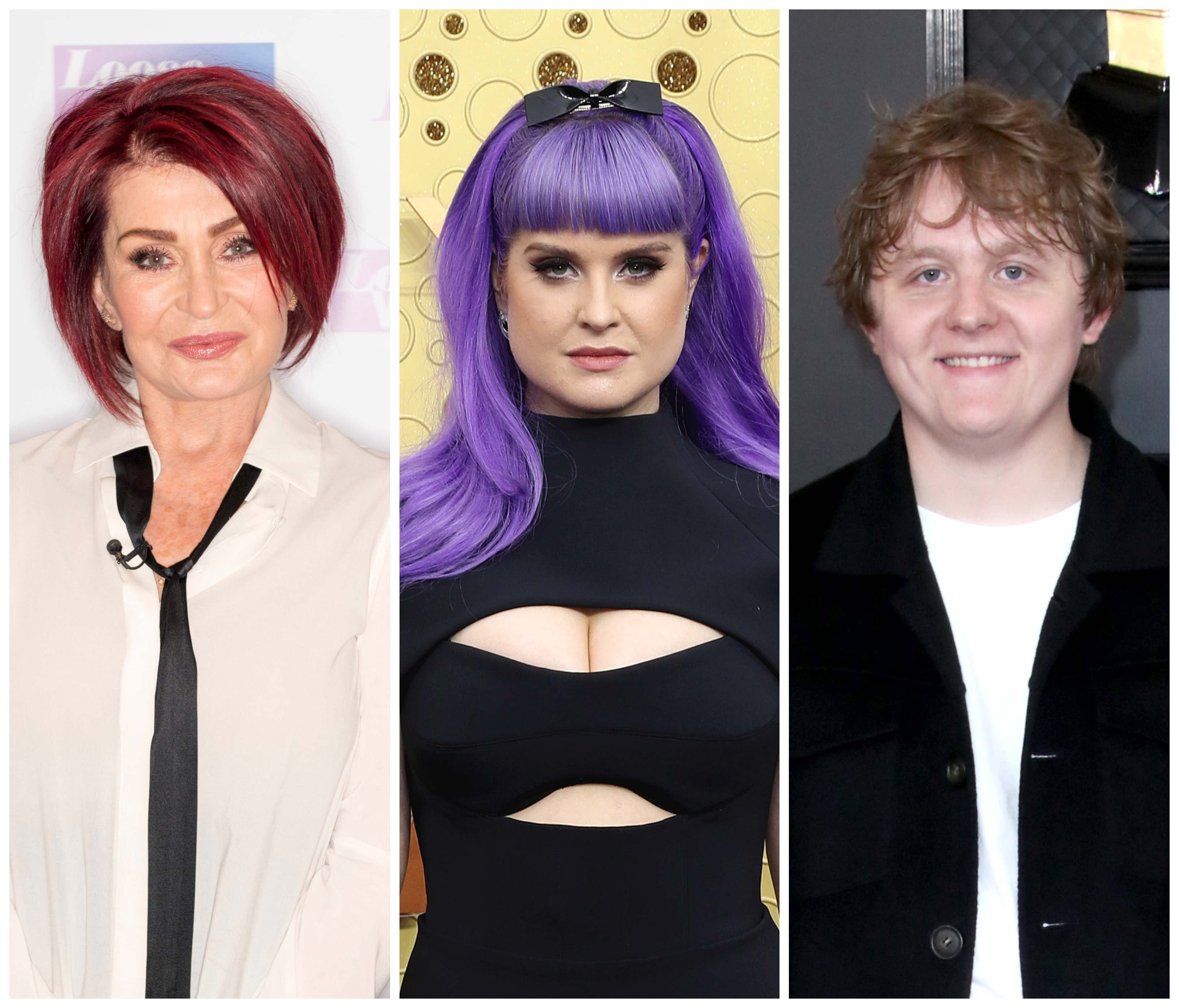 Sharon Osbourne Jokes Daughter Kelly, 35, Is 'in Love With' Lewis Capaldi, 23, at 2020 Grammys