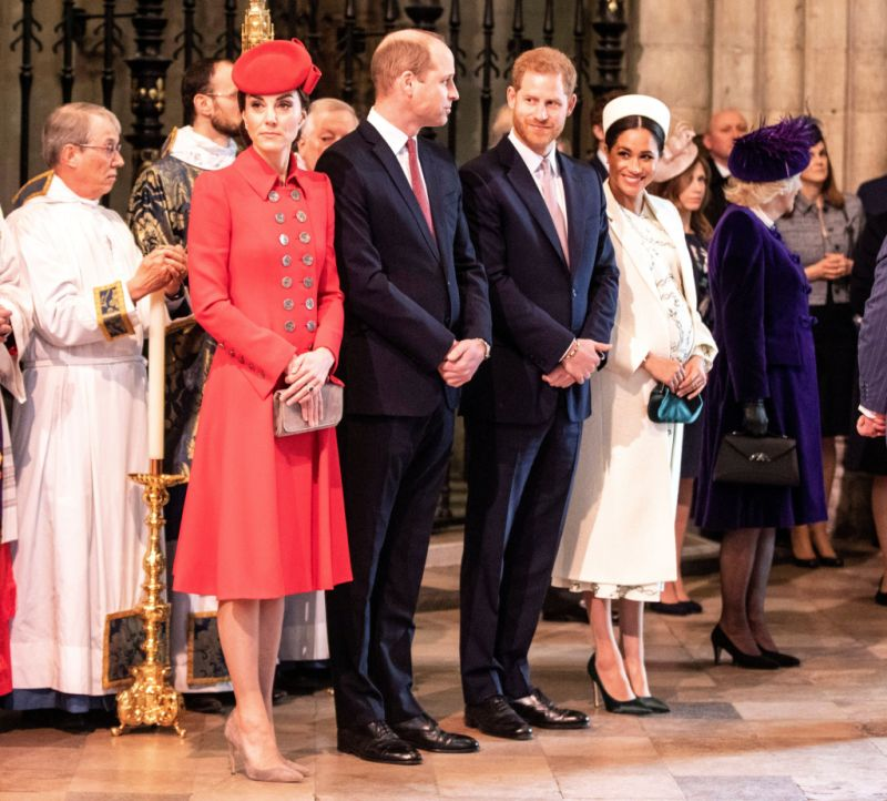 kate middleton prince harry prince william and meghan markle