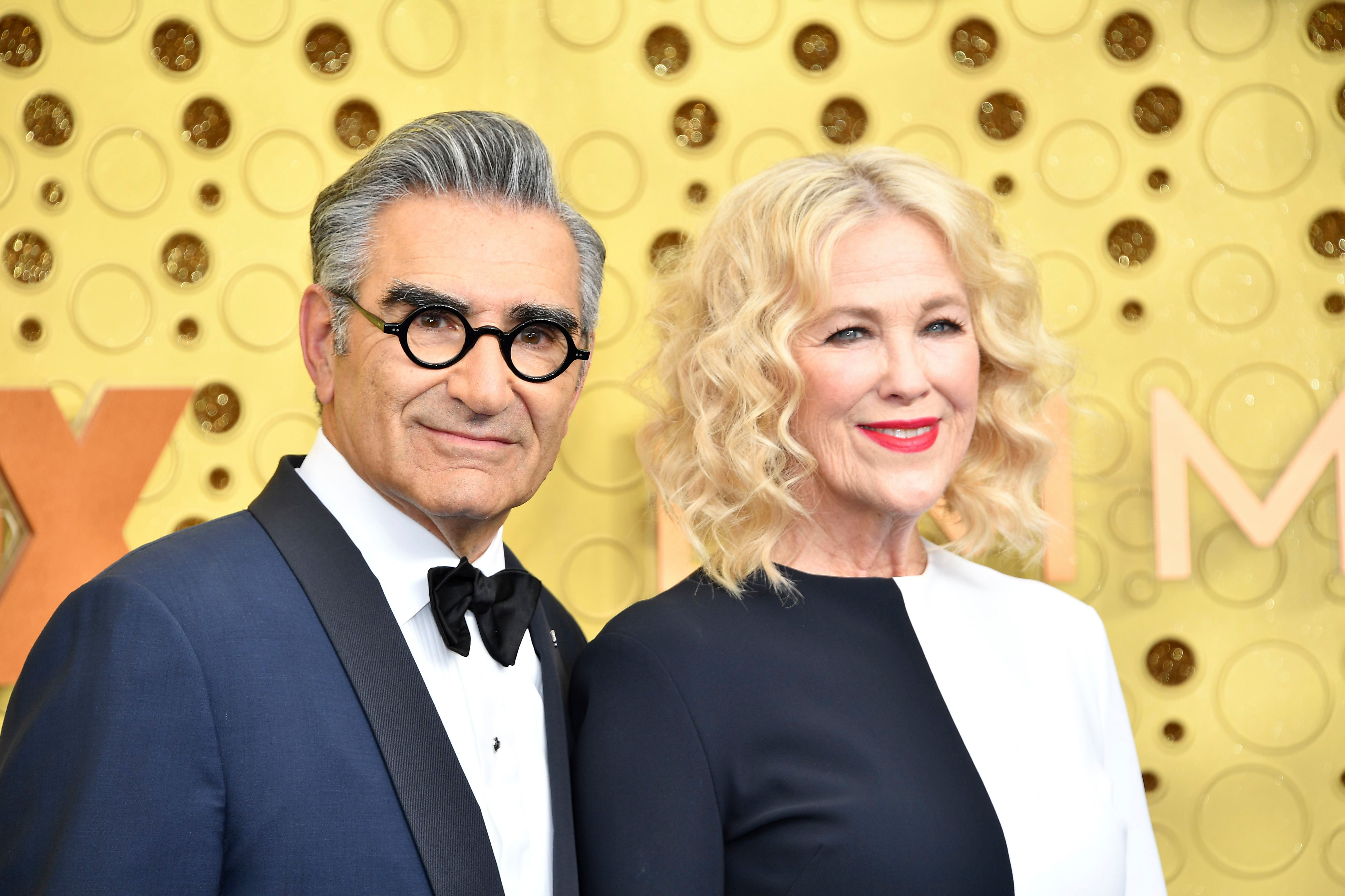 Catherine O Hara Says She Went On 1 Or 2 Dates With Eugene Levy