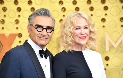 Catherine O'Hara and Eugene Levy
