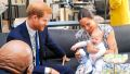 Prince Harry and Meghan Markle and Archie