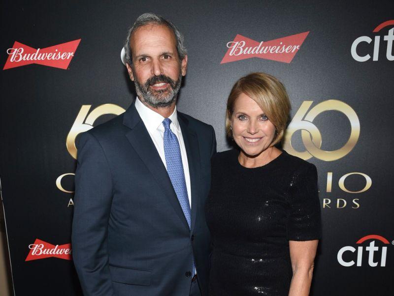 Katie Couric and husband John