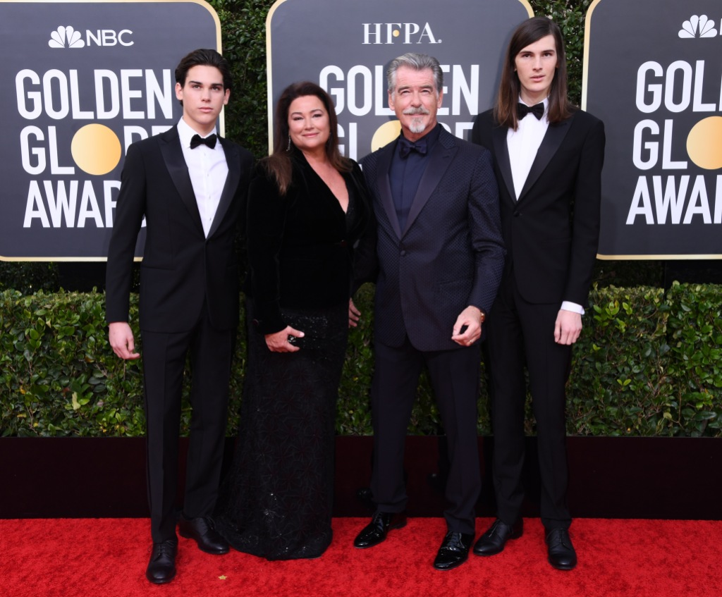 Pierce Brosnan's family