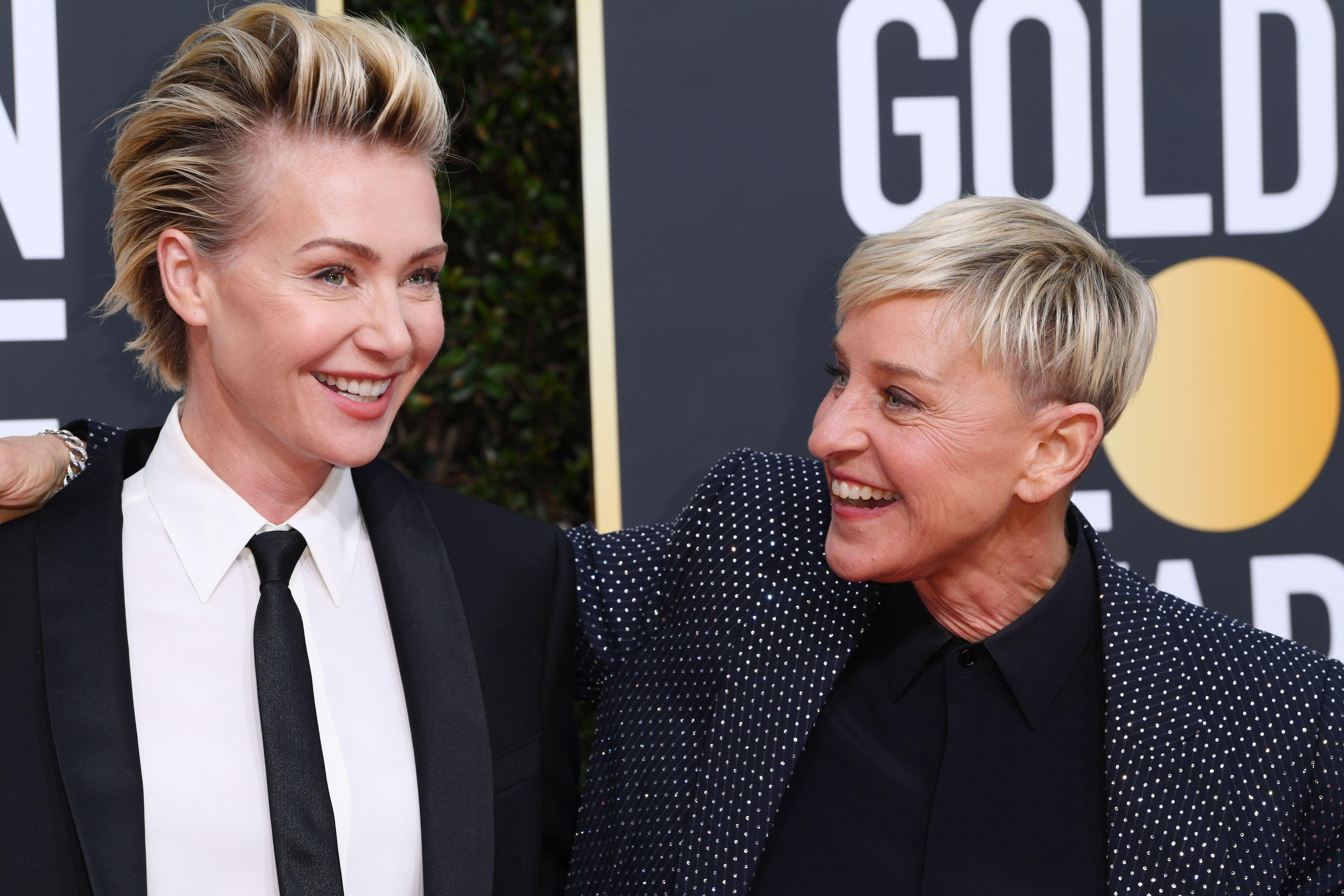 Portia de Rossi Surprises Wife Ellen DeGeneres With Poker Lessons for Her 62nd Birthday