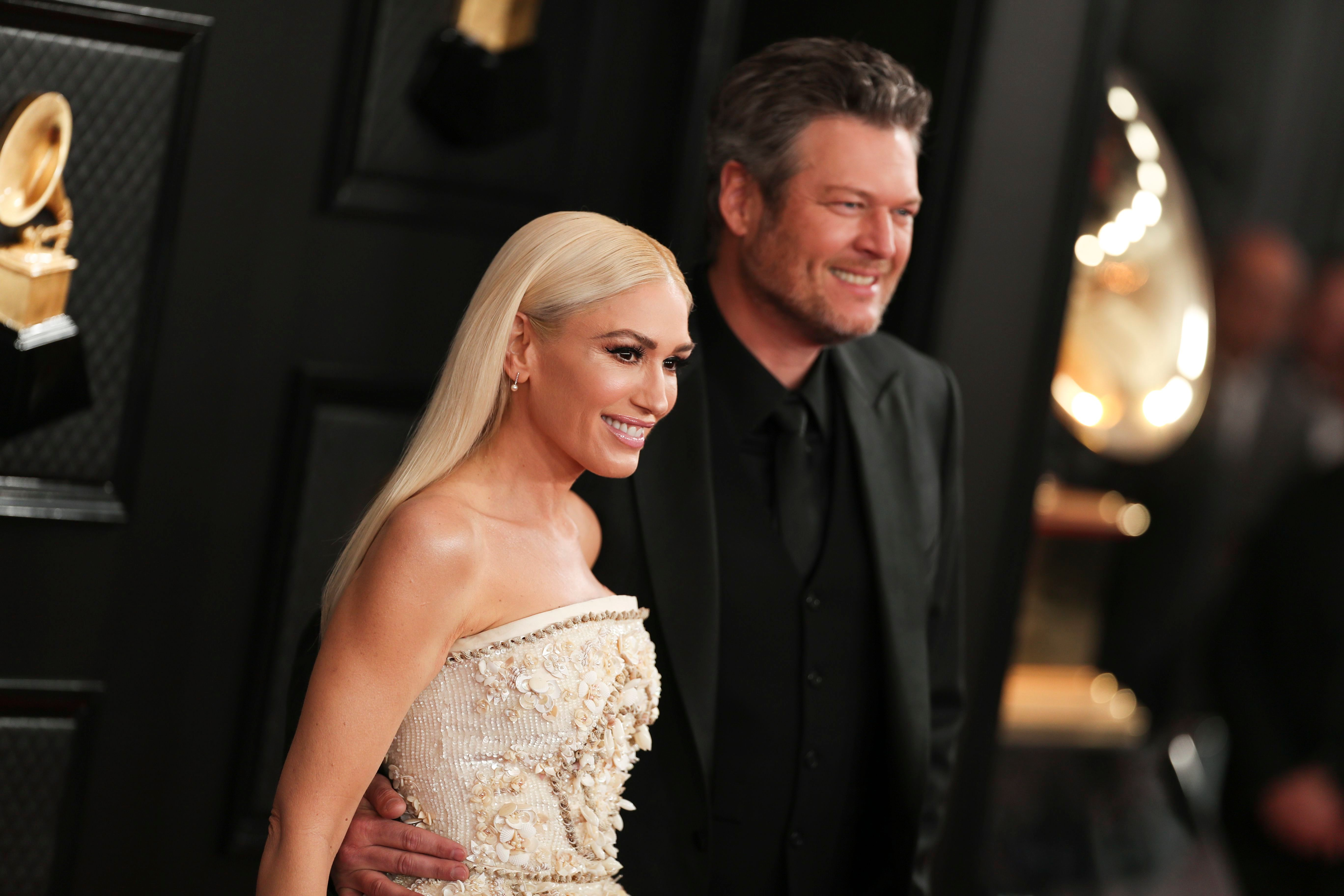 Gwen Stefani and Blake Shelton Look Like the Perfect Pair at the 2020 Grammys