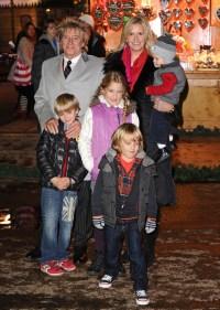 Rod Stewart's family