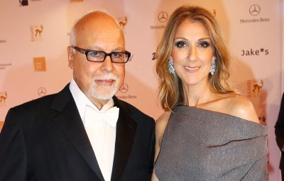 Celine Dion and Rene Angelil