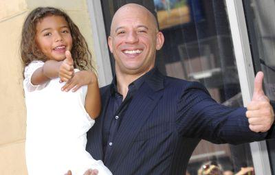 Vin Diesel and daughter