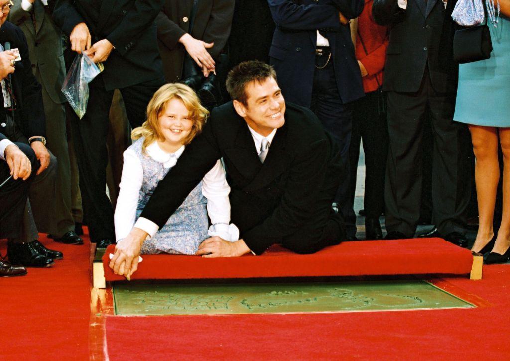 Jim Carrey Hand and Footprint Ceremony