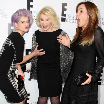 Melissa Rivers, Kelly Osbourne and Joan Rivers