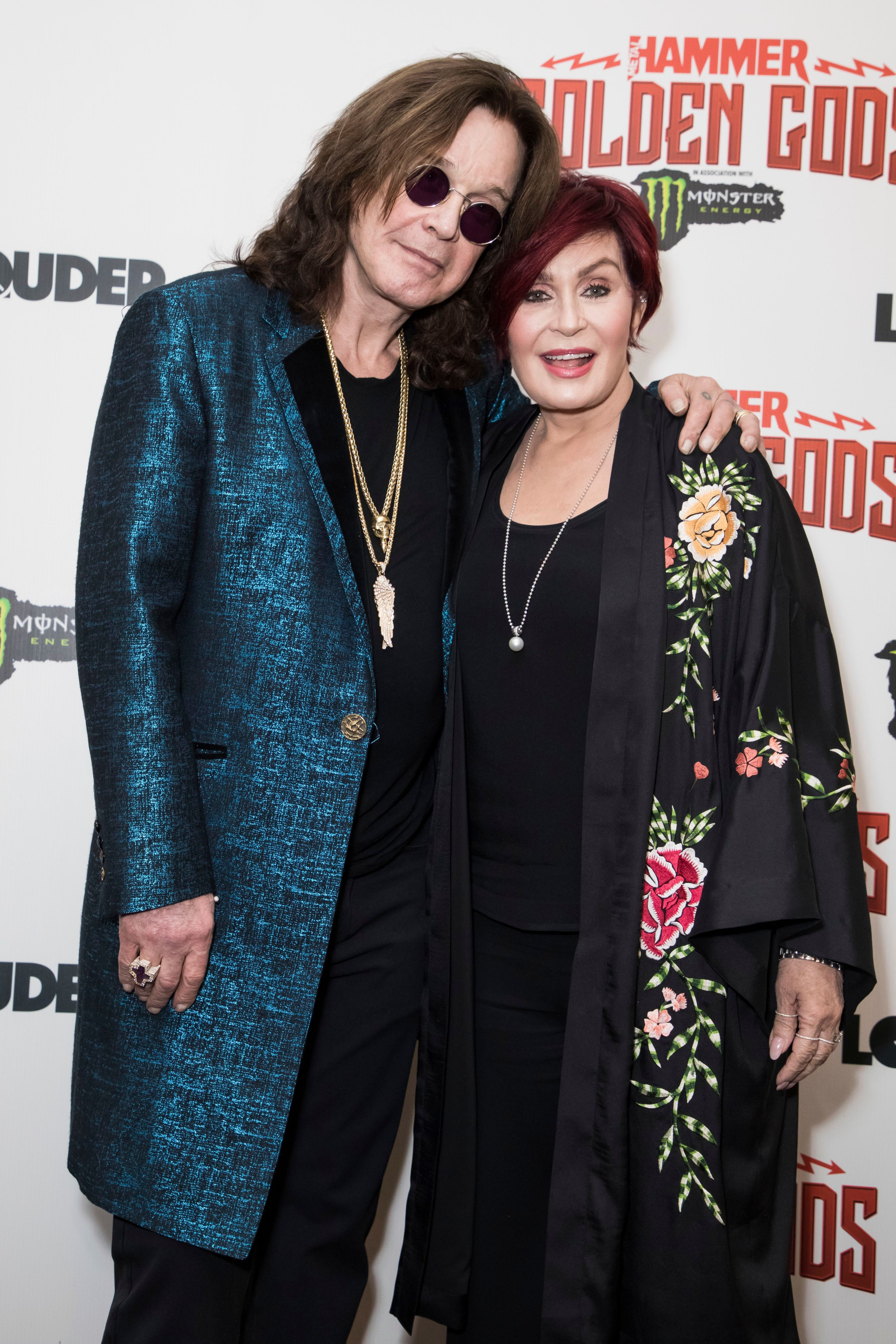 Sharon Osbourne Says She Wants to 'Produce a Movie' About Husband Ozzy's Life in 2020