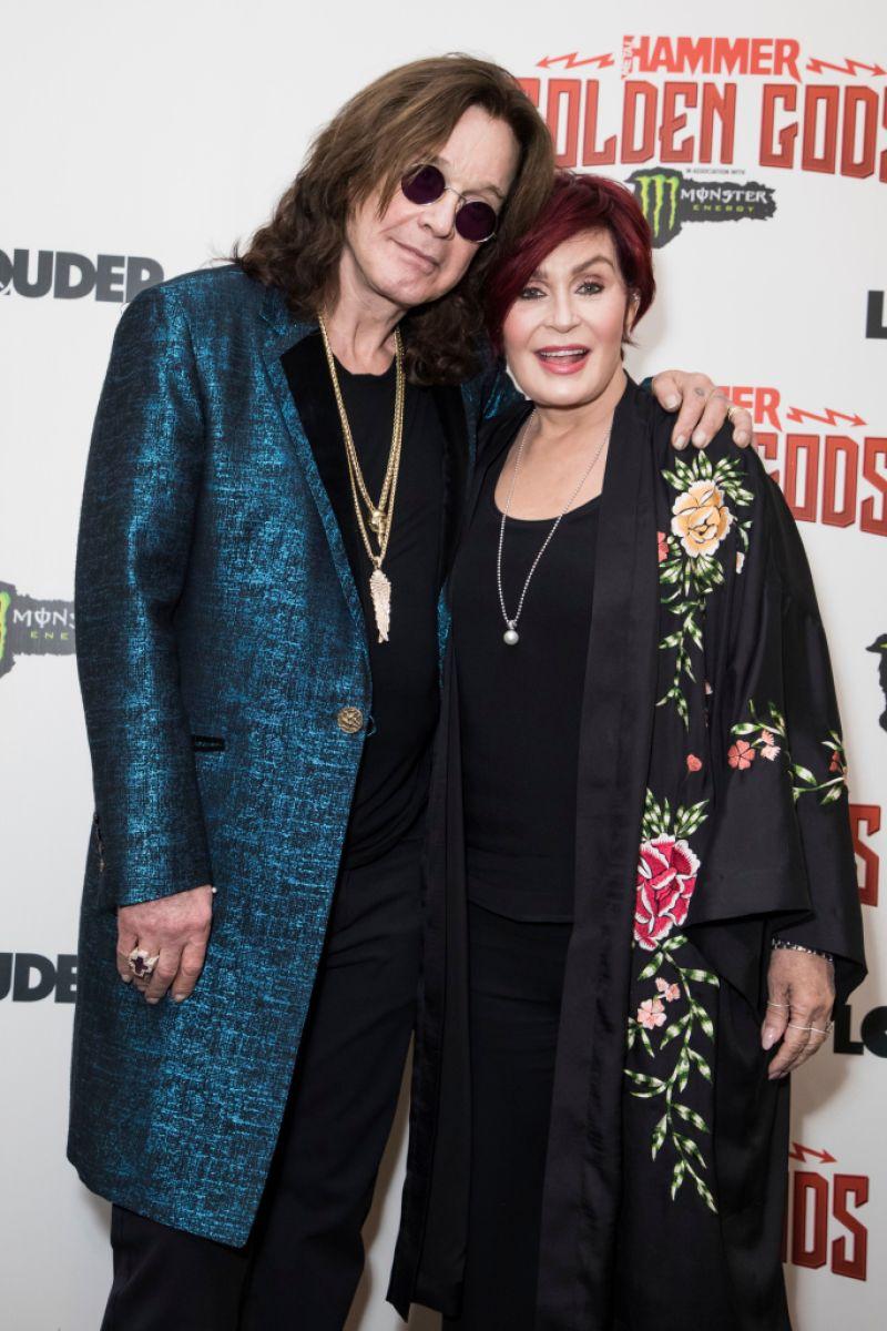 Sharon Osbourne and Ozzy
