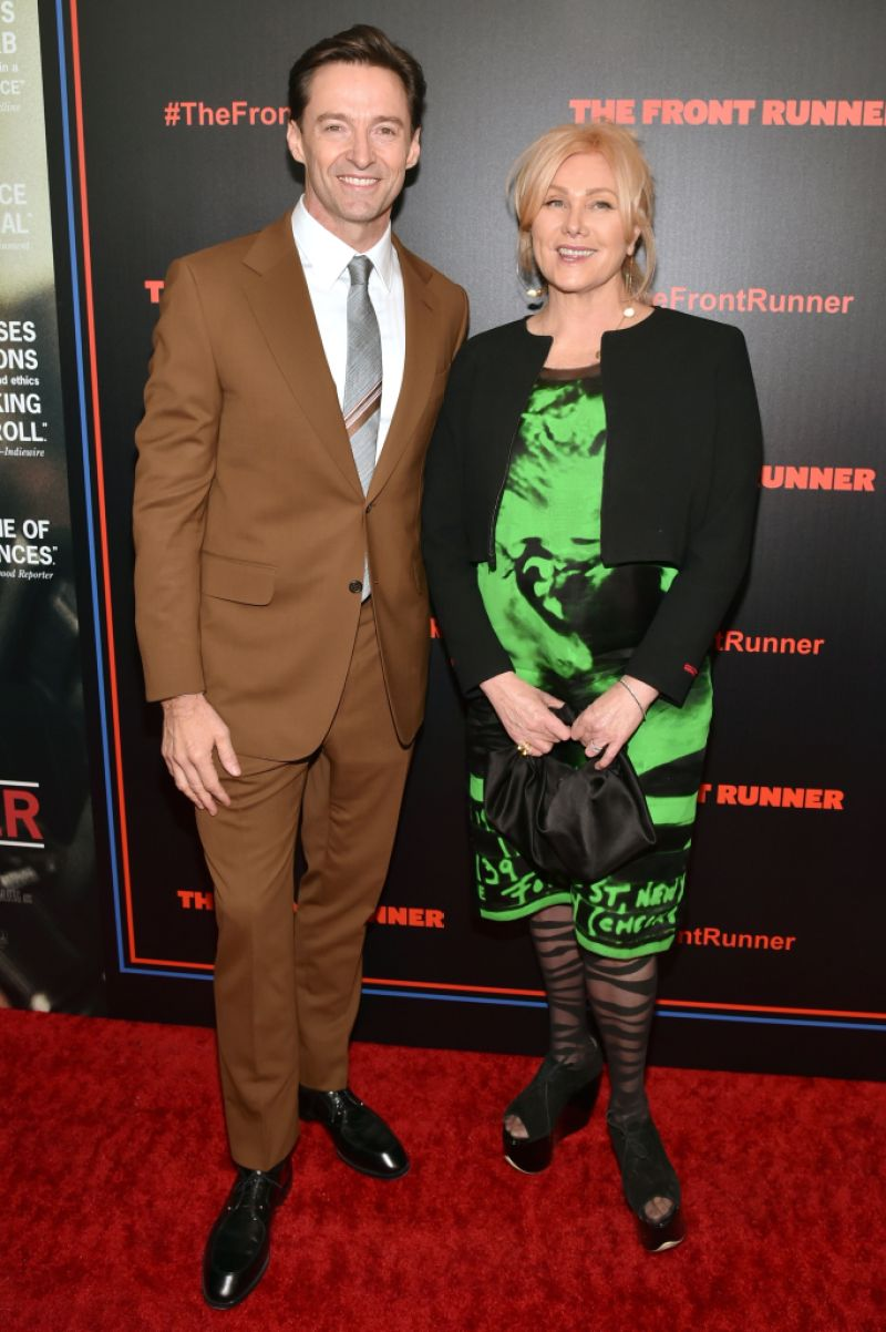 Hugh Jackman and wife Deborra