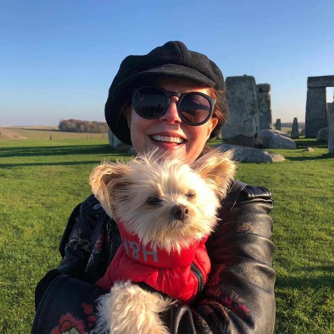 Susan Sarandon Reveals Her Beloved Pomeranian Dog Rigby Has Died: 'She Is Missed'