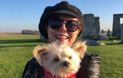 Susan Sarandon dog