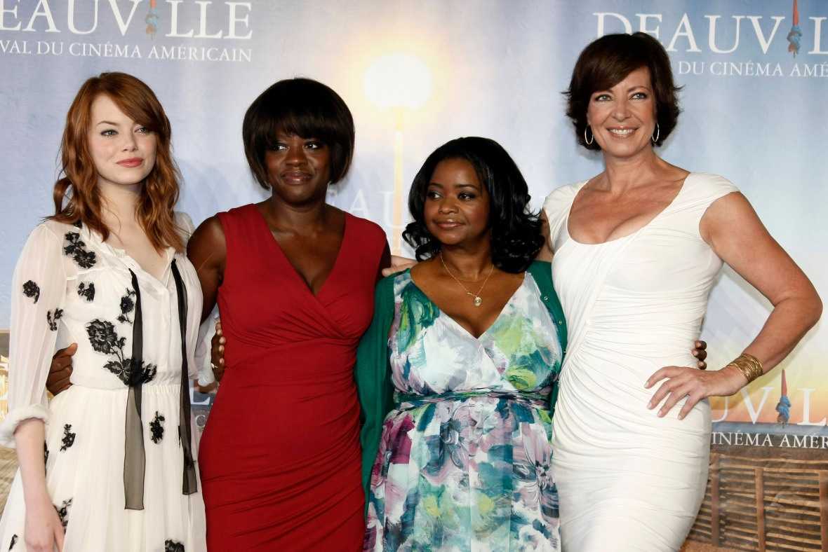 Emma Stone, Viola Davis, Octavia Spencer and Allison Janney of 'The Help'