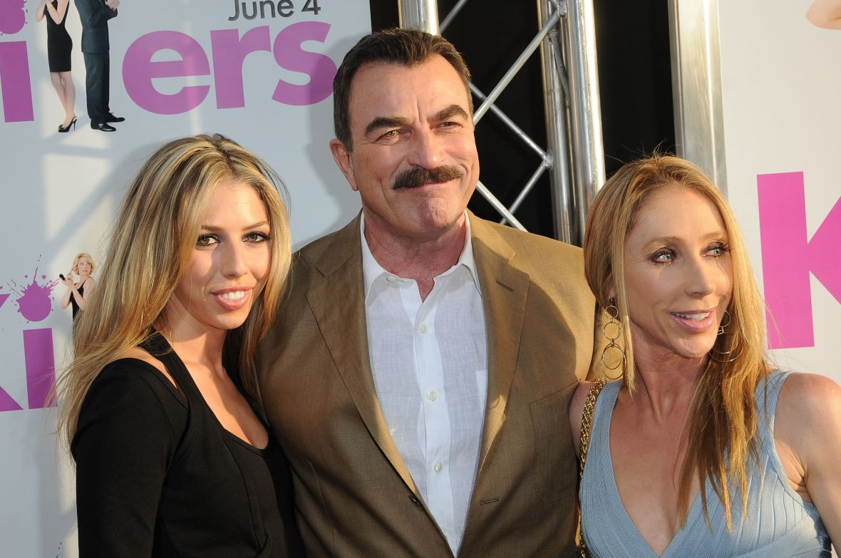 Tom Selleck With Wife Jillieand Daughter Hannah