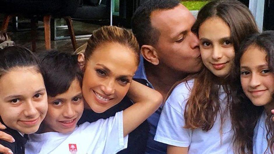 Alex Rodriguez Jennifer Lopez