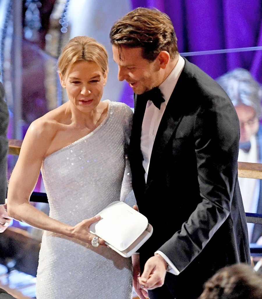 Bradley Cooper and Ex Renee Zellweger Mingle at the 2020 Oscars