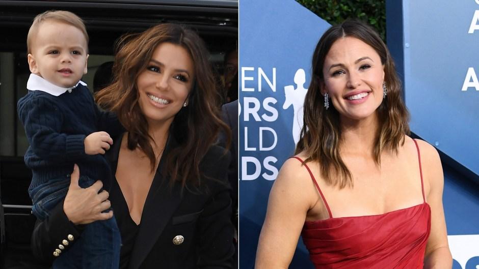 Eva Longoria Shouts Out Jennifer Garner for Baby Santiago's Favorite New Snack: 'He's Obsessed'
