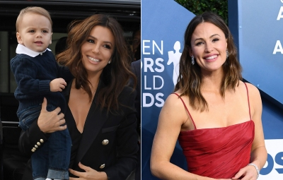 Eva Longoria Shouts Out Jennifer Garner for Baby Santiago's Favorite New Snack: 'He's Obsessed'