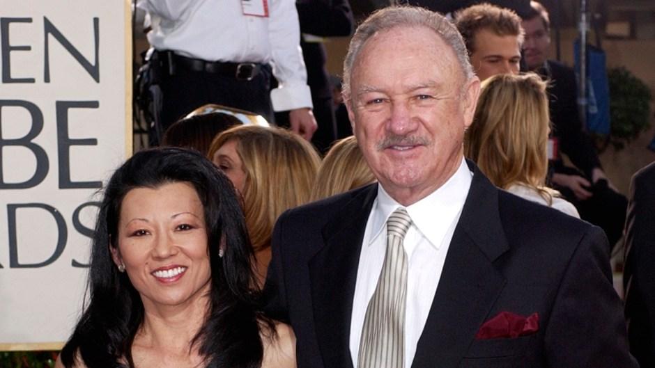 Gene Hackman and Wife Betsy Arakawa