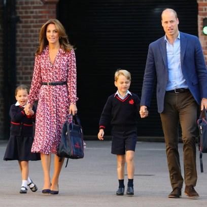 Kate Middleton Prince William Princess Charlotte Prince George