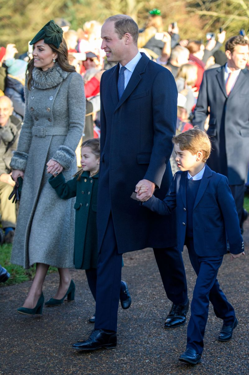 Kate Middleton Prince William Princess Charlotte Prince George