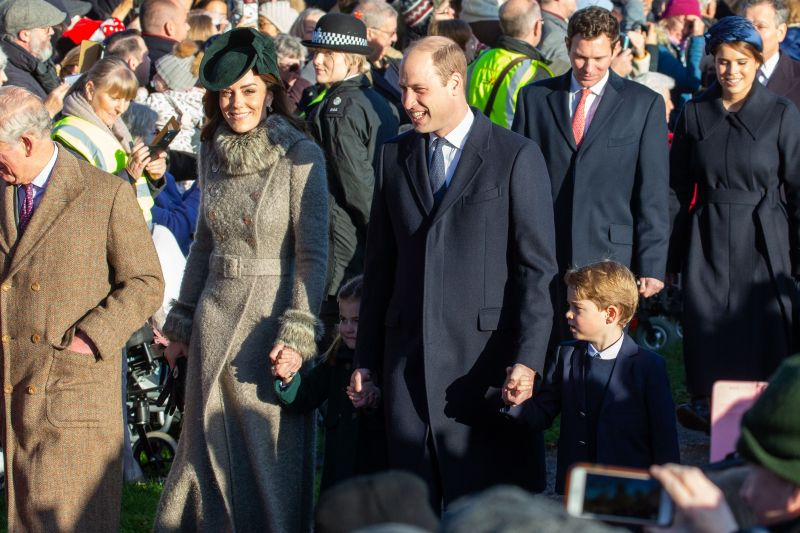 Kate Middleton Prince WIlliam George and Charlotte