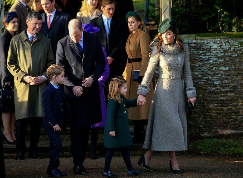 Kate middleton prince william prince george princess charlotte
