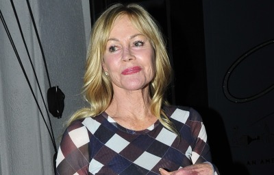 Melanie Griffith at Craig's for dinner