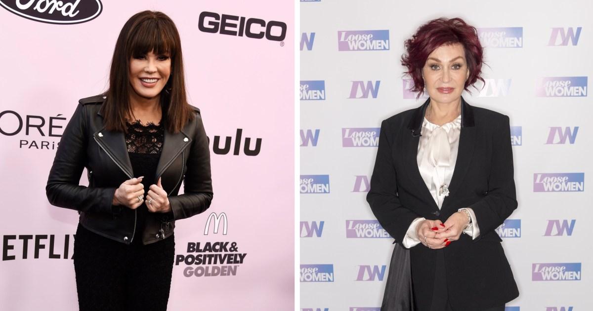 Marie Osmond Says She Didn't Inspire Sharon Osbourne's New Look