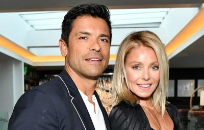 Mark Consuelos and Kelly Ripa