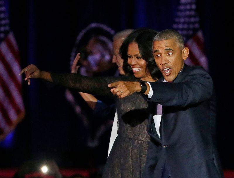 Michelle Obama Barack Obama
