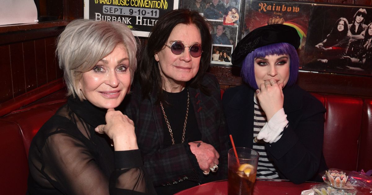 Sharon Osbourne Shows Off Her New Hair While Out With Ozzy and Kelly