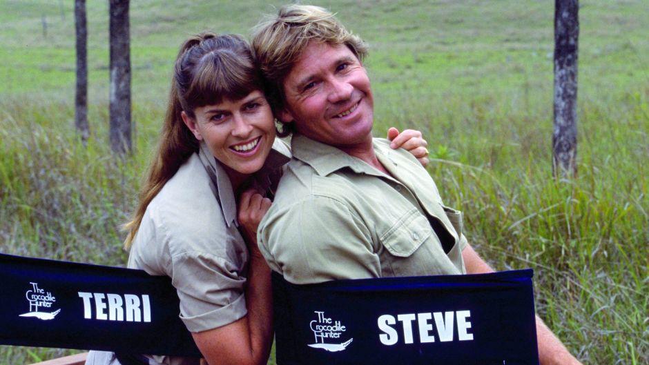 Terri Irwin Steve Irwin