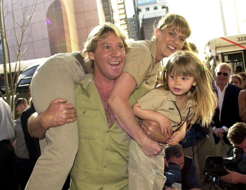 Terri Irwin Steve Irwin Bindi