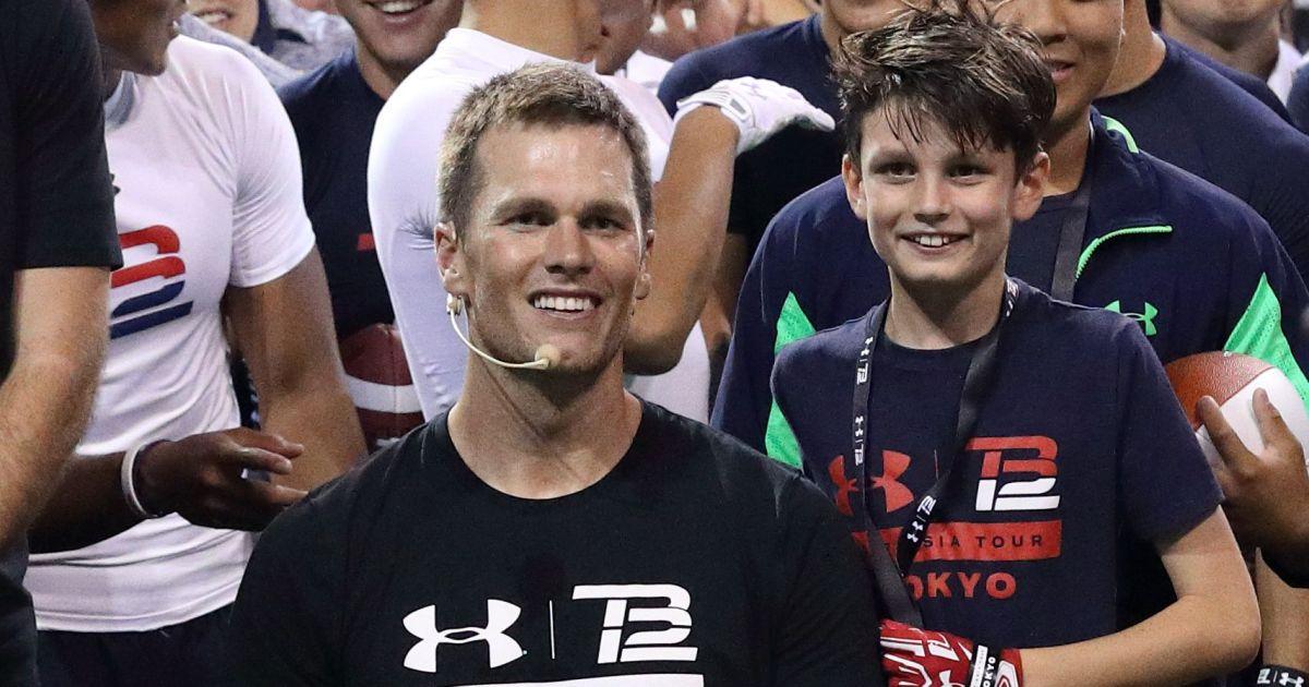 Tom Brady Shares Rare Photo Of His Eldest Son Jack