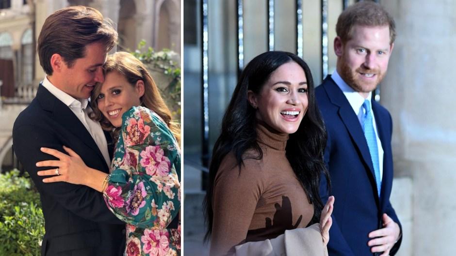 Prince Harry and Meghan Markle Princess Beatrice