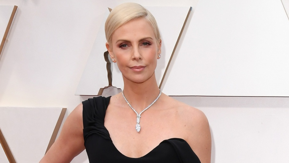 Charlize Theron at 2020 Oscars Red Carpet