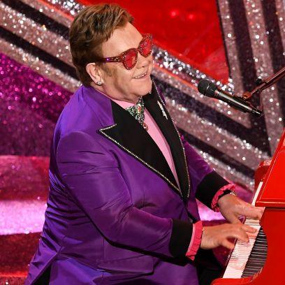 Elton John Sings at the 2020 Oscars