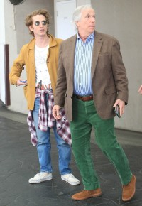 henry-winkler-son-max-lunch-outing
