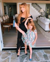 Jane Seymour and granddaughter Willow