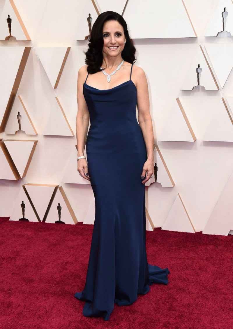 Julia Louis-Dreyfus at the 2020 Oscars