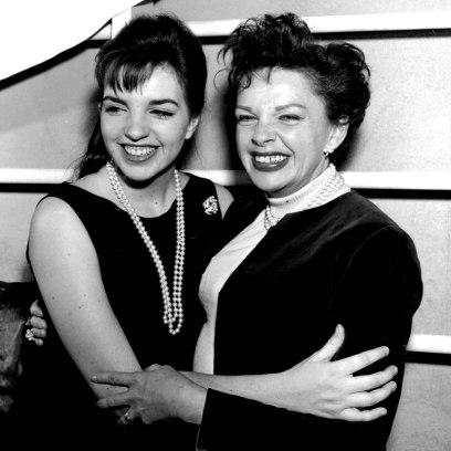 Liza Minnelli and Mom Judy Garland