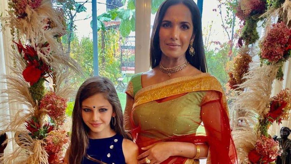 Padma Lakshmi and daughter Krishna