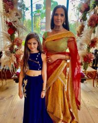 Padma Lakshmi and daughter Krishna