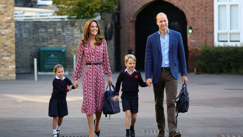 Princess Charlotte's first day at school, Thomas's Battersea, London, UK - 05 Sep 2019