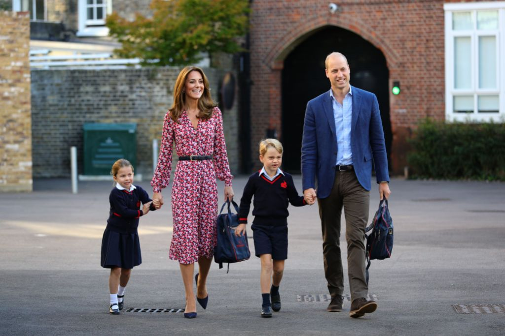Princess Charlotte's first day at school, Thomas's Battersea, London, UK - 05 Sep 2019