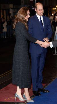 Prince William and Catherine Duchess of Cambridge attend charity performance of 'Dear Evan Hansen', Noel Coward Theatre, London, UK - 25 Feb 2020